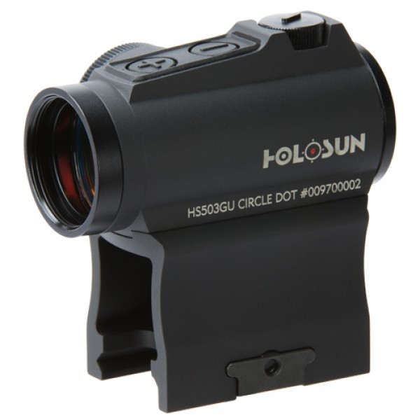 Holosun HS503GU Red Dot Circle Dot Reticle