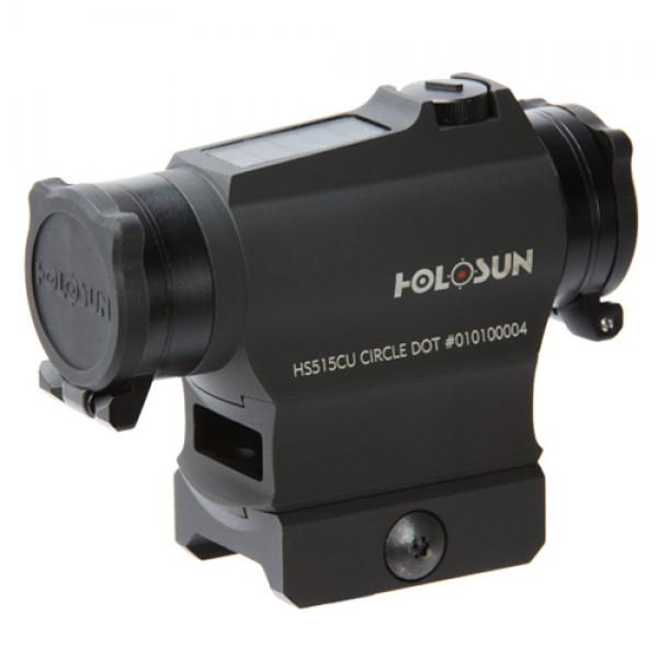 Holosun HS515CU Circle Dot Reticle, Solar Powered