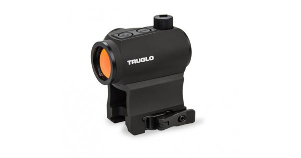 Truglo Tru-Tec 20mm Red Dot Sight 2 MOA w// High /& Low Bases ~ TG8120BN